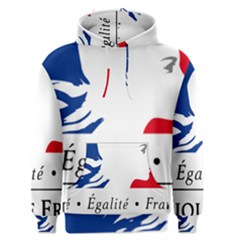 Symbol of the French Government Men s Pullover Hoodie