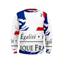 Symbol of the French Government Kids  Sweatshirt
