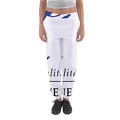Symbol of the French Government Women s Jogger Sweatpants