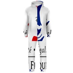 Symbol of the French Government Hooded Jumpsuit (Men)