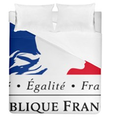 Symbol of the French Government Duvet Cover (Queen Size)
