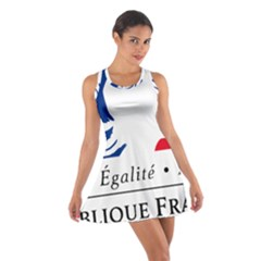 Symbol of the French Government Cotton Racerback Dress