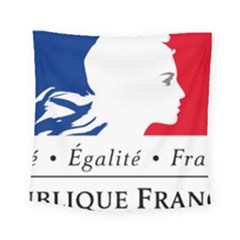 Symbol of the French Government Square Tapestry (Small)