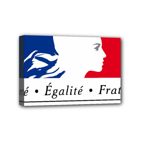 Symbol of the French Government Mini Canvas 6  x 4