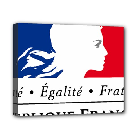 Symbol of the French Government Canvas 10  x 8