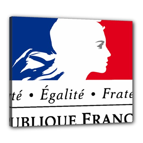 Symbol of the French Government Canvas 24  x 20