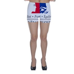 Symbol of the French Government Skinny Shorts