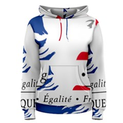 Symbol of the French Government Women s Pullover Hoodie