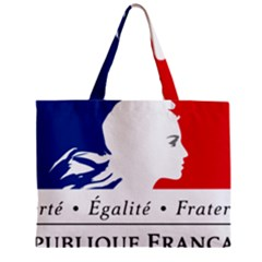 Symbol of the French Government Zipper Mini Tote Bag