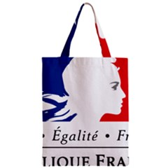 Symbol of the French Government Zipper Classic Tote Bag
