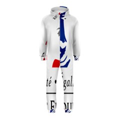 Symbol of the French Government Hooded Jumpsuit (Kids)