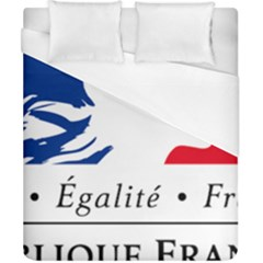 Symbol of the French Government Duvet Cover (California King Size)