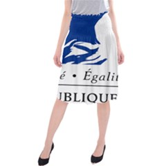 Symbol of the French Government Midi Beach Skirt