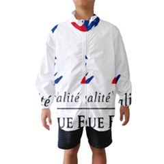 Symbol of the French Government Wind Breaker (Kids)