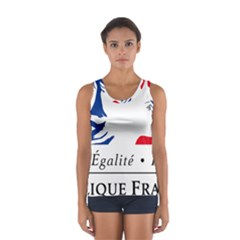 Symbol of the French Government Women s Sport Tank Top