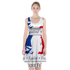 Symbol of the French Government Racerback Midi Dress