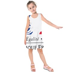 Symbol of the French Government Kids  Sleeveless Dress
