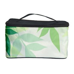 Spring Leaves Nature Light Cosmetic Storage Case