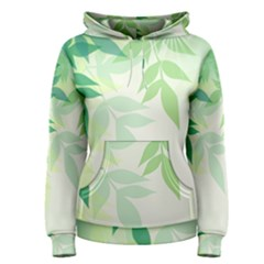 Spring Leaves Nature Light Women s Pullover Hoodie