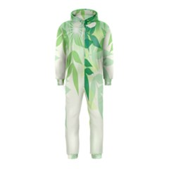 Spring Leaves Nature Light Hooded Jumpsuit (Kids)