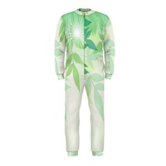 Spring Leaves Nature Light OnePiece Jumpsuit (Kids)