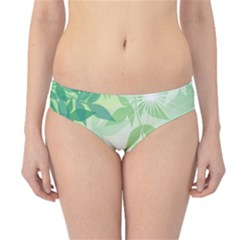 Spring Leaves Nature Light Hipster Bikini Bottoms