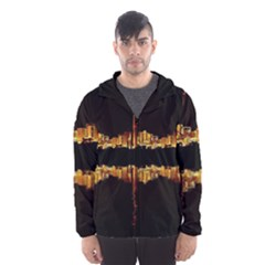 Waste Incineration Incinerator Hooded Wind Breaker (Men)