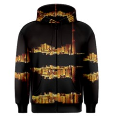Waste Incineration Incinerator Men s Zipper Hoodie