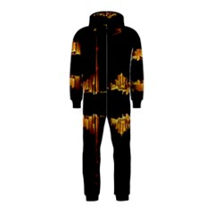 Waste Incineration Incinerator Hooded Jumpsuit (kids)