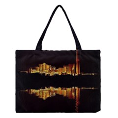 Waste Incineration Incinerator Medium Tote Bag