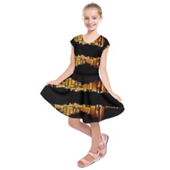 Waste Incineration Incinerator Kids  Short Sleeve Dress