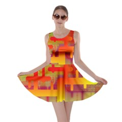 Binary Binary Code Binary System Skater Dress