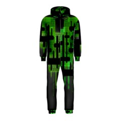 Binary Binary Code Binary System Hooded Jumpsuit (kids)