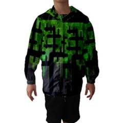 Binary Binary Code Binary System Hooded Wind Breaker (Kids)