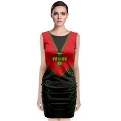 Dressed For Success Sleeveless Velvet Midi Dress