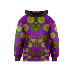 Buddha Blessings Fantasy Kids  Pullover Hoodie