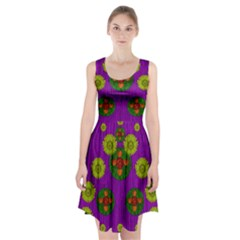 Buddha Blessings Fantasy Racerback Midi Dress