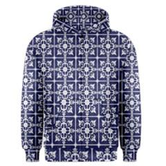 Leaves Horizontal Grey Urban Men s Zipper Hoodie