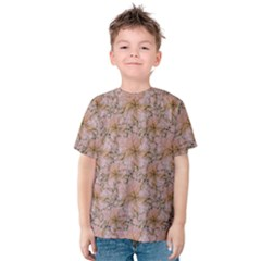 Nature Collage Print Kids  Cotton Tee