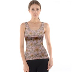 Nature Collage Print Tank Top