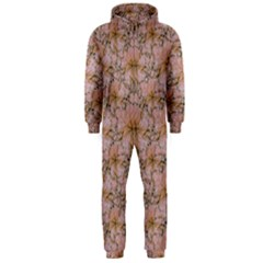 Nature Collage Print Hooded Jumpsuit (Men)