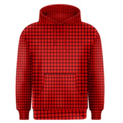 Red And Black Men s Pullover Hoodie