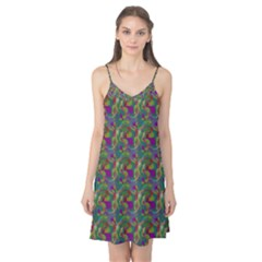 Pattern Abstract Paisley Swirls Camis Nightgown