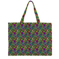 Pattern Abstract Paisley Swirls Large Tote Bag