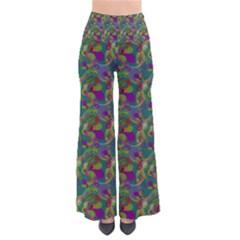 Pattern Abstract Paisley Swirls Pants