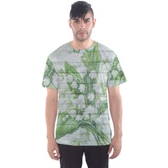 On Wood May Lily Of The Valley Men s Sport Mesh Tee