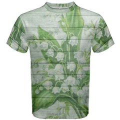 On Wood May Lily Of The Valley Men s Cotton Tee