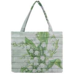 On Wood May Lily Of The Valley Mini Tote Bag