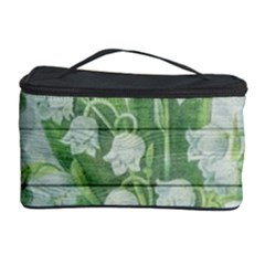 On Wood May Lily Of The Valley Cosmetic Storage Case