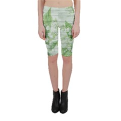 On Wood May Lily Of The Valley Cropped Leggings